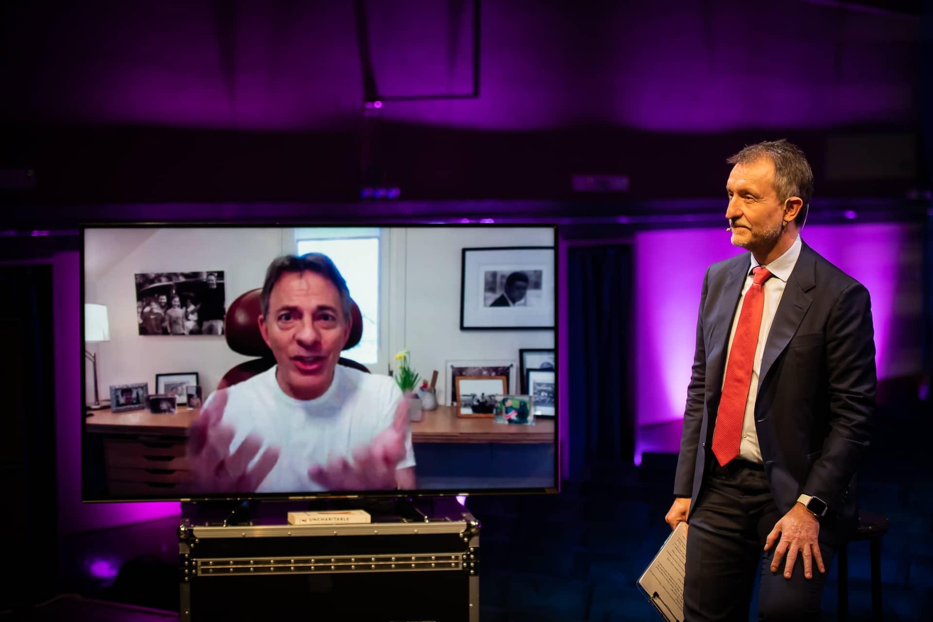 Dan Pallotta intervistato da Valerio Melandri
