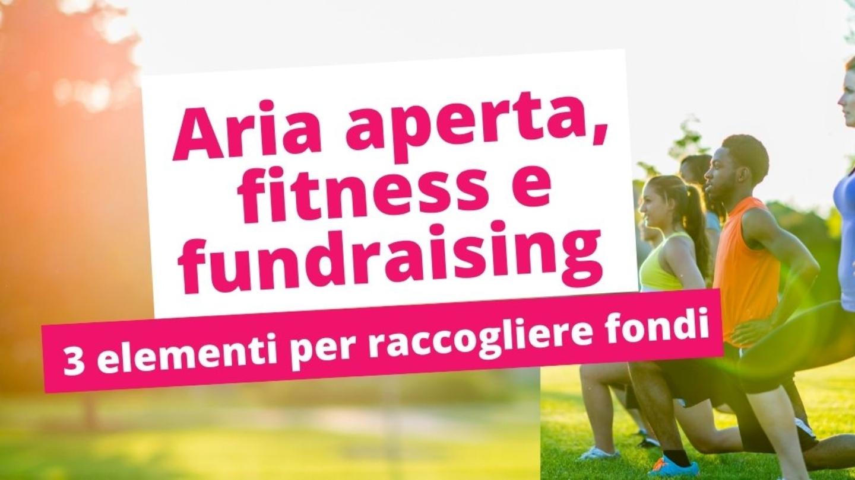 Aria Aperta Fitness E Fundraising