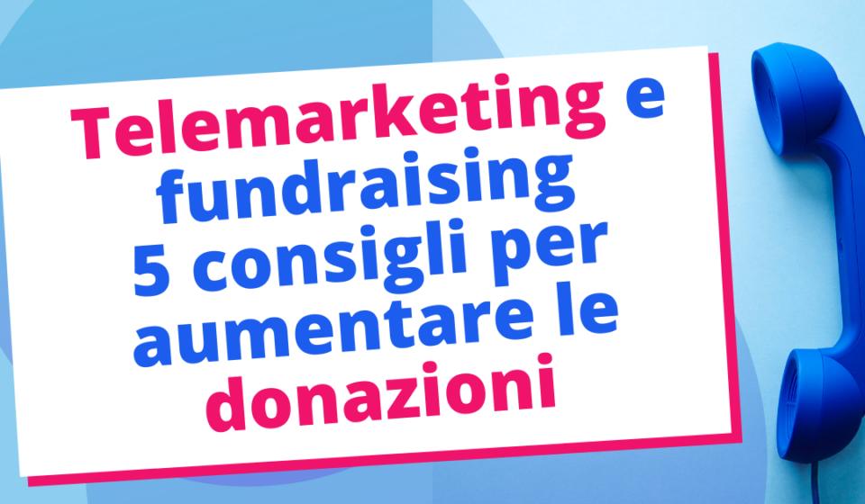 Telemarketing Fundraising